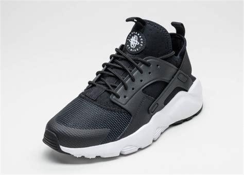 Nike Air Huarace Run Ultra Black White nike air huarache run ultra black white anthracite white asphaltgold