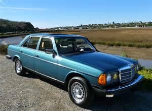 1984 Mercedes 300d Turbo Diesel Mercedes Motoring 1984 300d Turbo Diesel Sedan