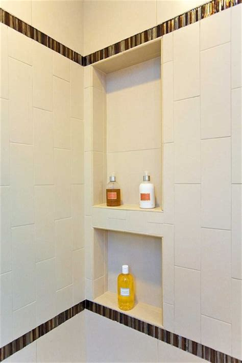 bathroom shower niche ideas bathroom shower shelving niche bench
