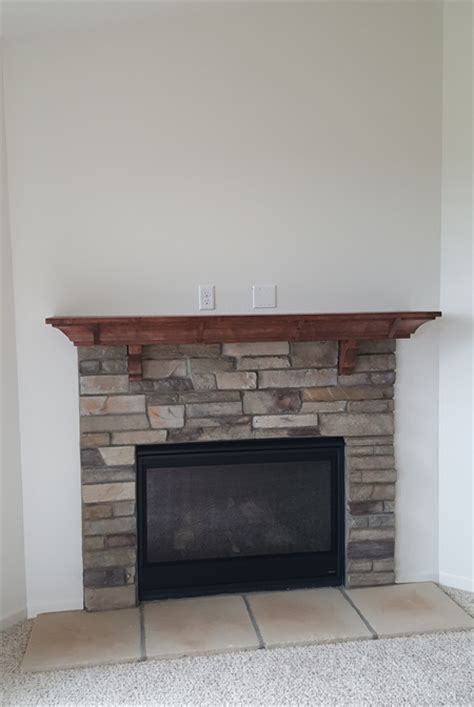Badgerland Fireplace by Waukesha Gas Fireplace Installation Badgerland Fireplace