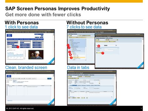 tutorial sap personas defining the value of sap screen personas user