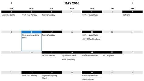 Simple Calendar Simple Calendar Calendar Plugin
