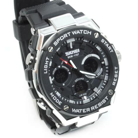 Jam Tangan Wanita Bum Equipment skmei jam tangan analog pria ad1187 black white jakartanotebook