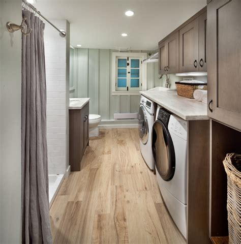 Tips For Tiny Bathrooms 23 small bathroom laundry room combo interior and layout