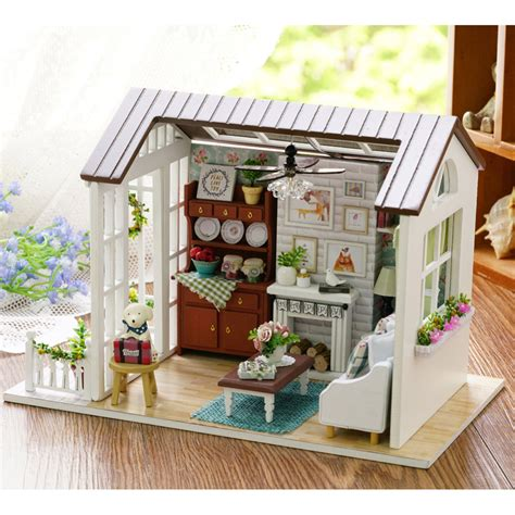 Handmade Wooden Doll Houses - doll house furniture miniatura diy doll houses miniature