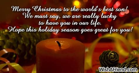 merry christmas   worlds  christmas message  son
