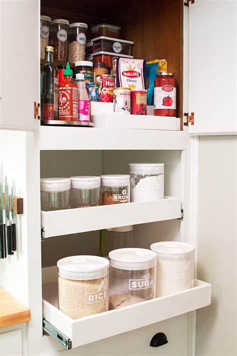 Small Pantry Solutions by Hearts Small Pantry Organization