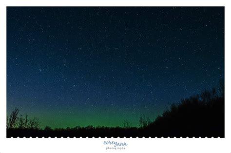 Northern Lights In Ohio northern lights in ohio corey photography