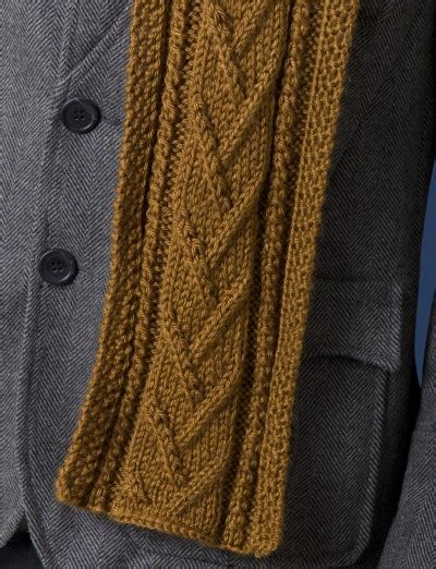 cable knit scarf pattern free caron combo cable scarf free knitting pattern knitting bee