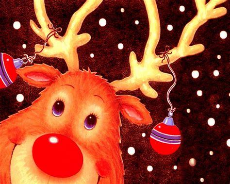 wallpaper christmas reindeer download christmas reindeer wallpapers wallpaper hd free