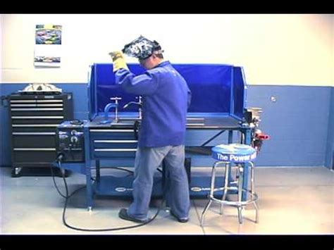 miller welding bench miller introduces new welding workbench arcstation youtube