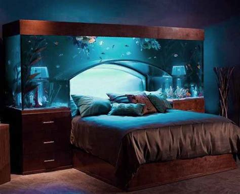 bed aquarium headboard awesome bedrooms ideas pictures 2014 decorating bedrooms