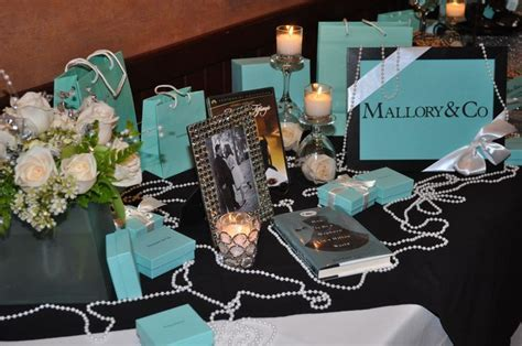 Tiffany & Co. theme Bridal Shower   Party Ideas