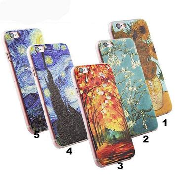 Softcase Starry Stickies Iphone 4 5 Se 6 Samsung S6 1 best gogh starry painting products on wanelo