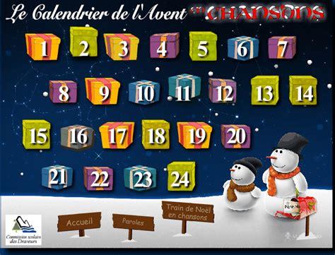 Calendrier De L Avent Anglais Cycle 2 Brozos En Fran 199 Ais Les Chansons De No 235 L