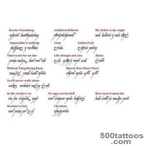 elvish tattoo creator elven tattoo designs ideas meanings images