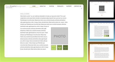 free flash templates download free flash template fla