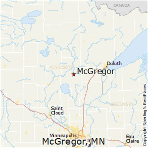 best places to live in mcgregor minnesota