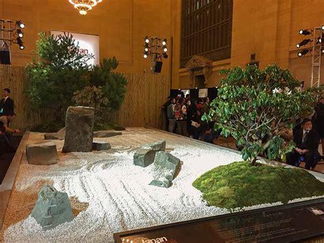 catch  japanese zen garden  grand central terminal