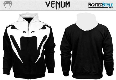 Sweater Vgod Black Fightmerch venum attack hoodie fighterstyle