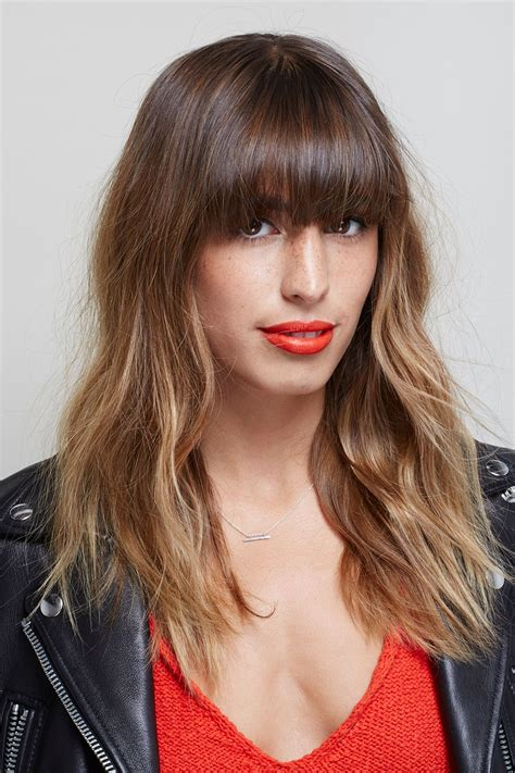 beach wave haircuts with bangs photos beach waves hair with bangs www pixshark com images