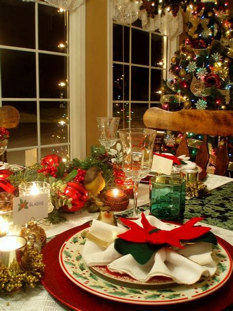 christmas table setting christmas table setting merry christmas pinterest