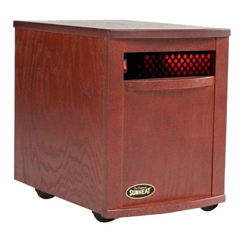 sunheat 1500 watt 6 element large room infrared portable
