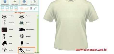 cara desain jersey di laptop membuat desain kaos online sendiri kusnendar