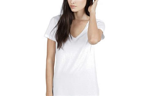 muland gray v neck t shirt and knee what s the best white t shirt for