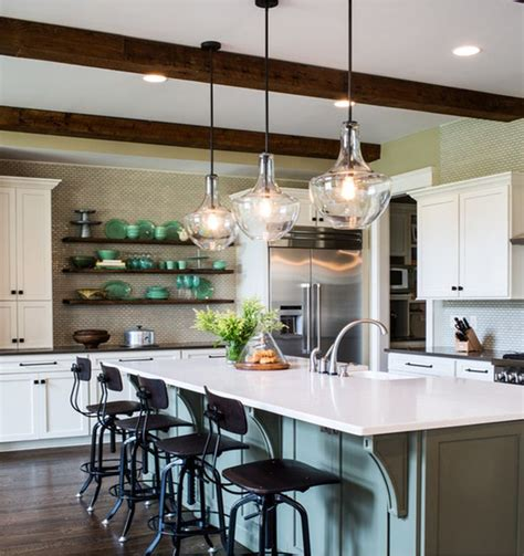 clear glass pendant lights for kitchen island best 25 kitchen island lighting ideas on