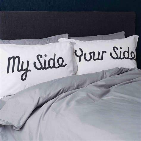 My Side Your Side Pillow my side your side pillowcases decoholic