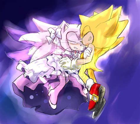 Supersonic X Amy   super sonic x ultimate amy by garugirosonicshadow on
