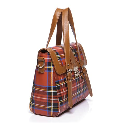 Plaid Bag plaid bag