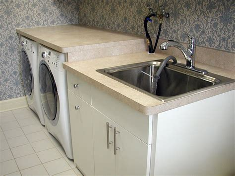 utility sink with cabinet and countertop laundry mudroom closet concepts