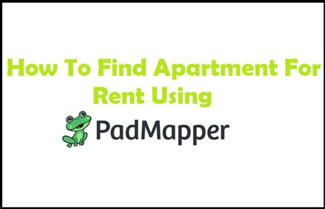 how to find a room for rent how to find apartment for rent using padmapper 247vibez