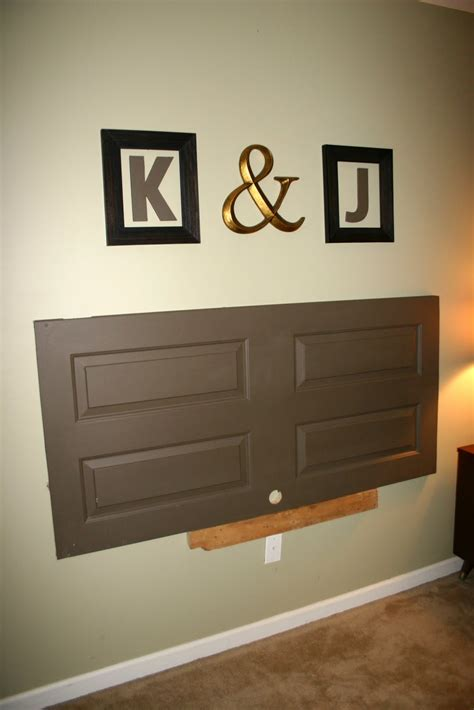 how to mount a door as a headboard diy headboards east coast creative blog