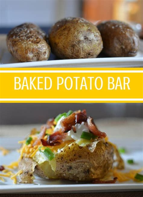 baked potato bar toppings ideas 1000 images about recipes on pinterest