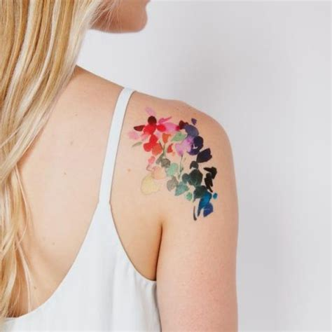 watercolor tattoos oklahoma swissmiss tattly