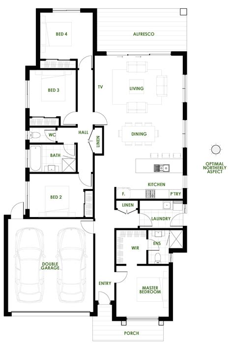 green home floor plans burleigh new home design energy efficient house plans