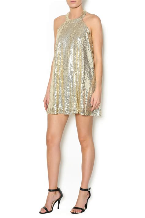 gold sequin swing dress by together sequin swing dress from arkansas by the fair