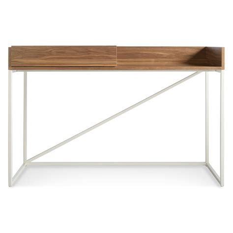 white desk modern swish console desk modern desks dot