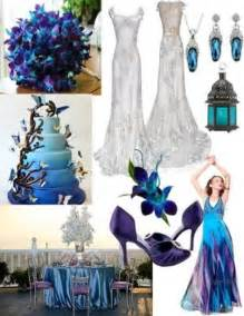 peacock wedding blue dendrobium orchids 2054147 weddbook