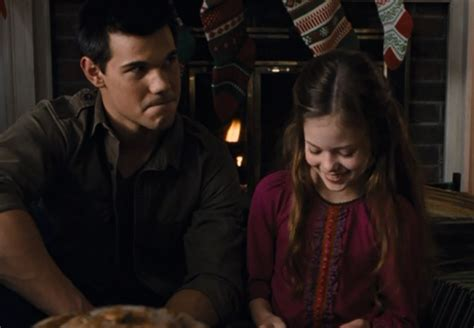 jacob black and renesmee cullen twilight saga wiki wikia christmas 1 jacob black and renesmee cullen photo