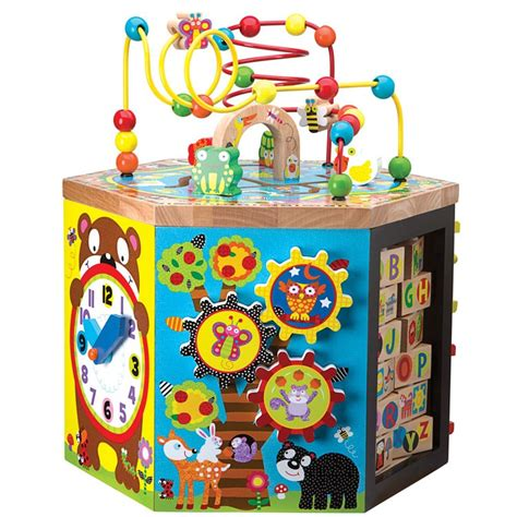 Mba Journey Manipulation Kit by Woodland Wonders Toddler Manipulative Activity Center