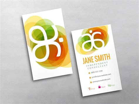 arbonne business cards template arbonne business cards free shipping