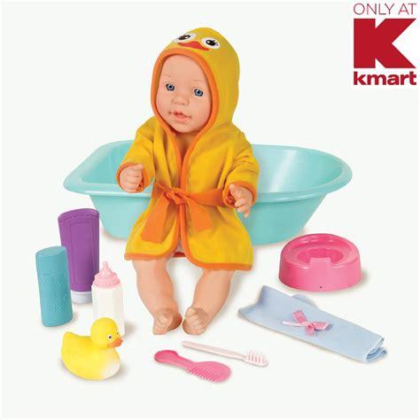 doll bathtub set just kidz 15 quot baby doll with bath set