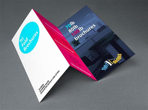 tri fold brochures printable business stationery geographics