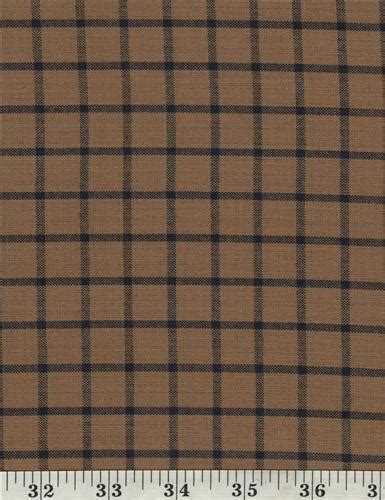 dunroven house dunroven house h 20 homespun beige w navy blue stripes fabric 1 2 yd cut