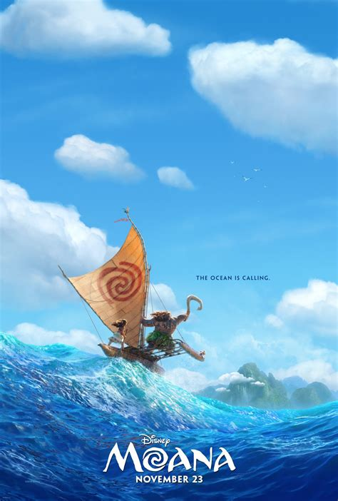 Itunes Embed Artwork by Moana Official Teaser Poster Movies
