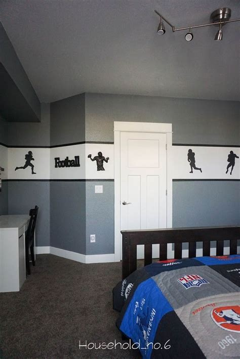 football themed bedrooms best 20 football theme bedroom ideas on pinterest